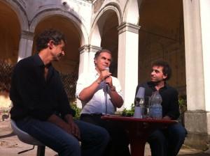 Massimiliano Virgilio dialoga con Lorenzo Pavolini e Edoardo Albinati