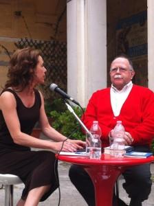 Valeria Parrella dialoga con Walter Siti nel Chiostro